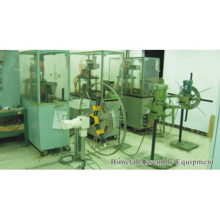 Bimetal forming machine
